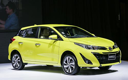 Toyota Yaris mới.