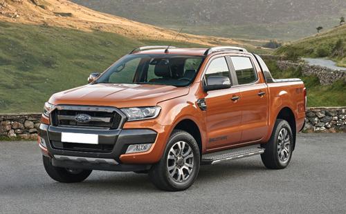 Ford trieu hoi hon 2.500 xe Ranger tai Viet Nam