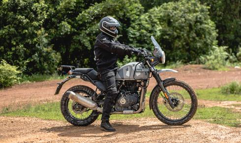 Xe off-road Himalayan gia 131 trieu tai Viet Nam