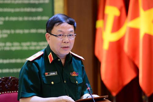 Thiếu tướng Lê Đăng Dũng - phụ trách Chủ tịch