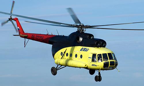 Một trực thăng Mi-8 của Utair Airlines. Ảnh: Planespotters