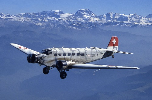 Một chiếc Junker52 do Ju-Air điều hành. Ảnh: Airlines.net.