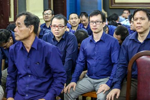 Vụ án có tổng cộng 46 bị cáo. Ảnh: Thành Nguyễn.