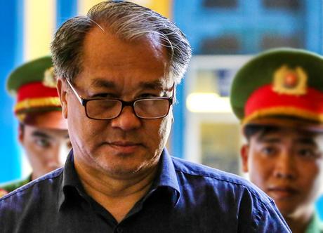 Ông Phạm Công Danh trước giờ tuyên án. Ảnh: Thành Nguyễn.