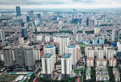 Nhiều địa bàn của TP Hà Nội đang trong quá trình đô thị hoá nhanh, đòi hỏi cómô hình quản lý đô thị phù hơp. Ảnh: Giang Huy.