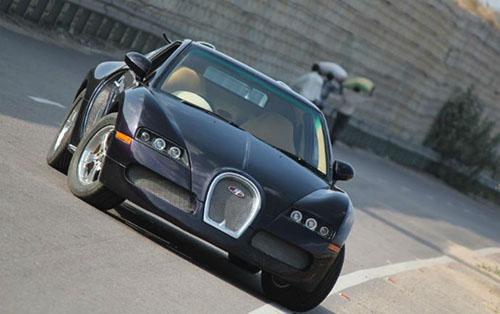 Ngoại hình khá giống mẫu siêu xe nhà Bugatti.