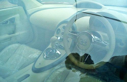 Nội thất City tương đồng Veyron.