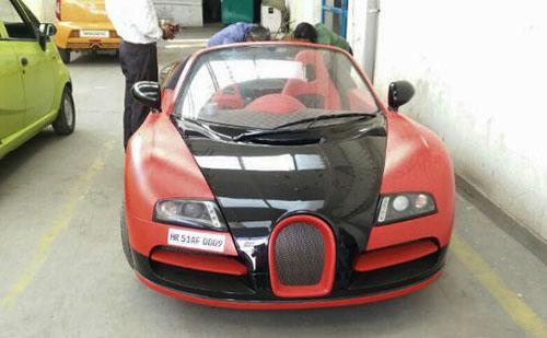 Bản độ Veyron dựa trên Tata Nano.