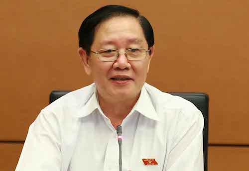 Bộ trưởng Nội vụ Lê Vĩnh Tân. Ảnh: QH