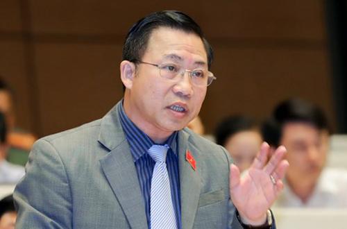 Đại biểu Lưu Bình Nhưỡng. Ảnh: QH