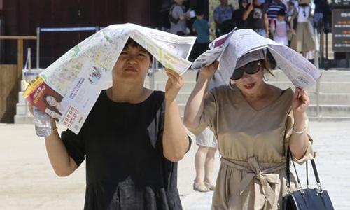 Nang nong ky luc trong hon 100 nam qua o Han Quoc, 42 nguoi chet