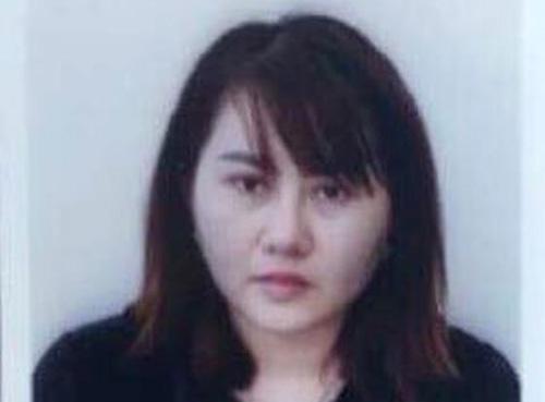 Phạm Thị Bình tại cơ quan điều tra. Ảnh: C.A.