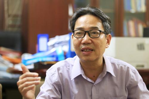 TS Đinh Văn Minh. Ảnh: Gia Chính