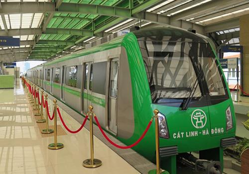 10 đoàn tàu sẽ chạy trên tuyến với tần suất 6-7 phút mỗi chuyến. Ảnh: Xuân Hoa.