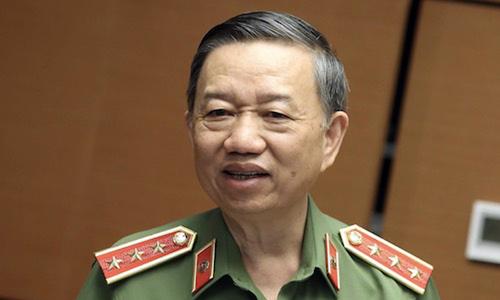 Bộ trưởng Công an: 'Nhiều tội phạm hình sự được thuê biểu tình gây rối'