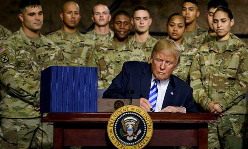 Thế giới ngày 14/8: Trump nói quân chủng vũ trụ sẽ giúp Mỹ vượt xa Trung Quốc
