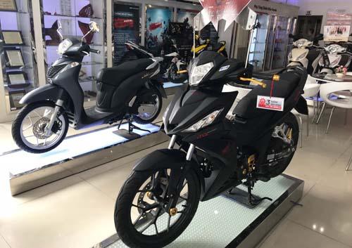 Honda Winner tại một đại lý ở quận Gò Vấpđang có giá bán dưới giá đề xuất 1-3 triệu đồng.