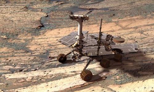 Opportunity gặt hái nhiều thành tựu quan trọng trong 15 năm khám phá sao Hỏa. Ảnh: NASA.