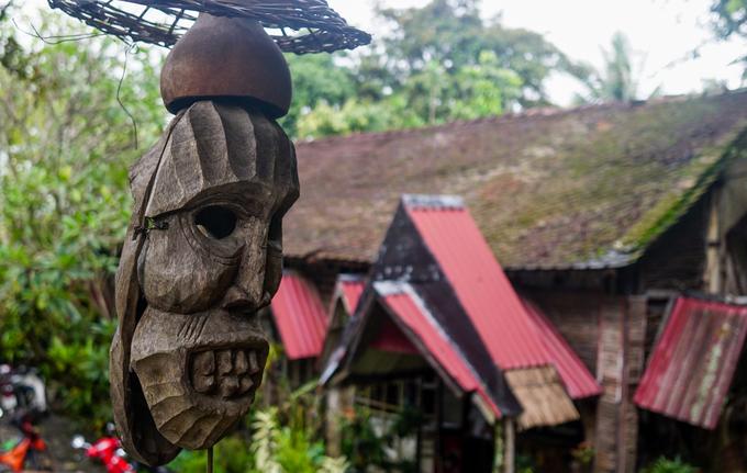 Quán cà phê theo phong cách nhà mồ ở Kon Tum
