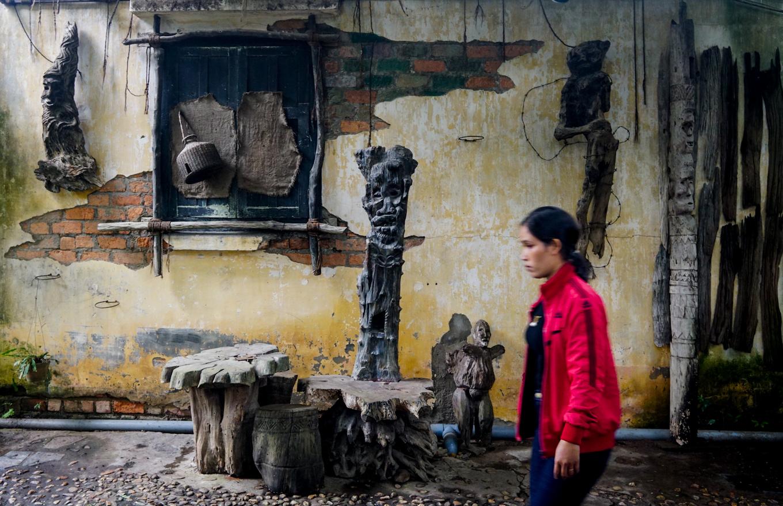 caphetaynguyen 9 1534328232 r 680x0 - Quán cà phê theo phong cách nhà mồ ở Kon Tum