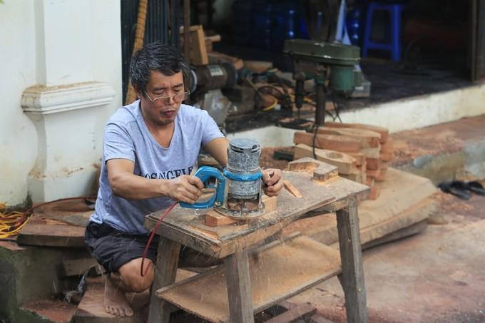 Gia đình 35 năm khắc khuôn bánh Trung thu ở Hà Nội