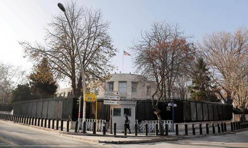 Đại sứ quán Mỹ tại thủ đô Ankara của Thổ Nhĩ Kỳ. Ảnh: Reuters.