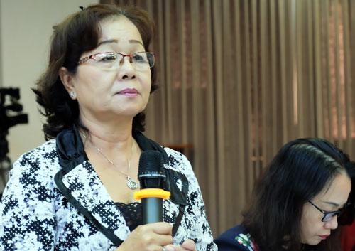 Bà Phan Thị Thu Hà đề xuất cho học sinh THCS, THPT được nghỉ thứ bảy. Ảnh: Mạnh Tùng.