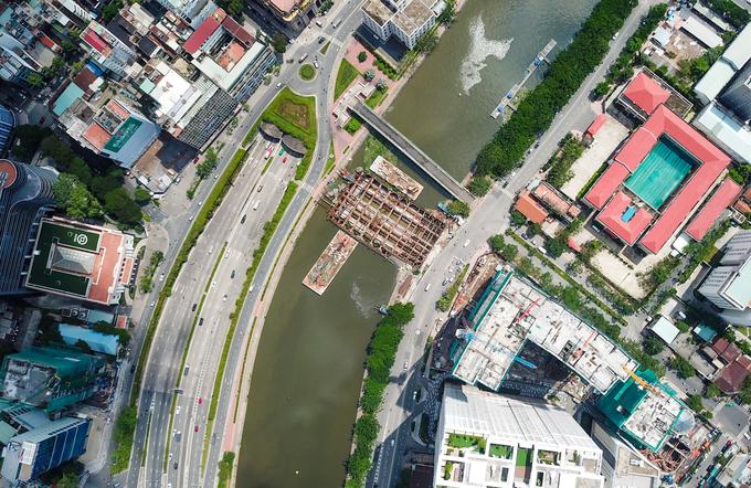 Hơn ba tháng 'bất động' của dự án chống ngập 10.000 tỷ đồng ở TP HCM