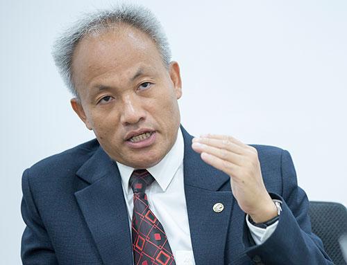 GS Nguyễn Quốc Sỹ. Ảnh: BN.