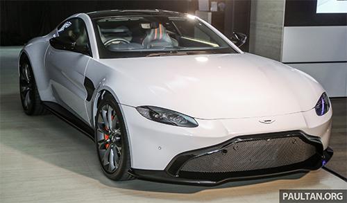 Aston Martin V8 Vantage 2018 ra mắt Đông Nam Á