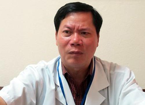 Ông Trương Quý Dương khi đương chức Giám đốc bệnh viện. Ảnh: Nam Phương.