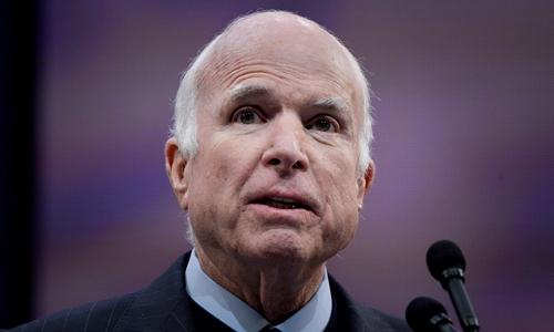John McCain tạiPennsylvania ngày tháng 10/2017. Ảnh: Reuters.