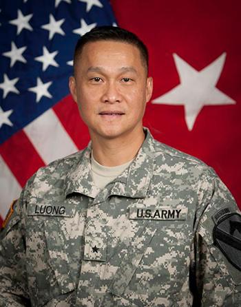 Thiếu tướng Mỹ gốc Việt Lương Xuân Việt. Ảnh: US Army
