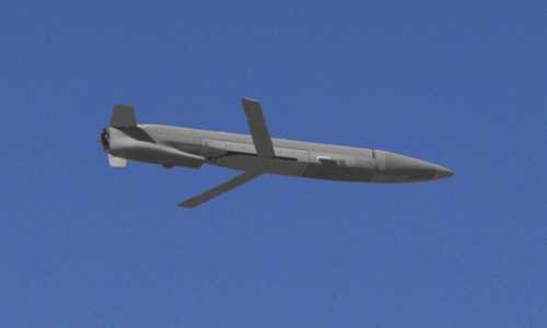 Biến thể MALD-X thử nghiệm hôm 22/8. Ảnh: Raytheon.