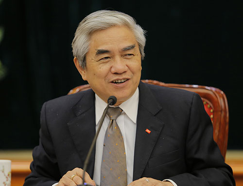 TS Nguyễn Quân. Ảnh: Loan Lê