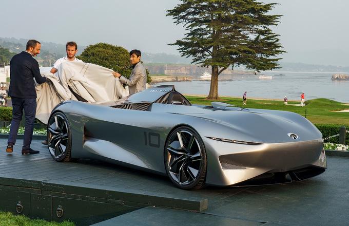 10 mẫu xe đỉnh cao chào thế giới