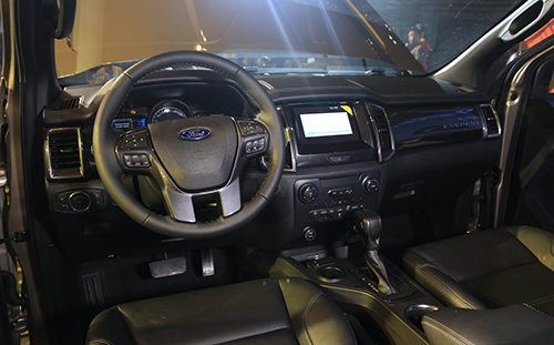 Ford Everest 2018 gia cao nhat 14 ty cuoc dua moi cung Fortuner