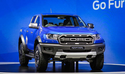 Ford Ranger Raptor 2018 sap ve Viet Nam