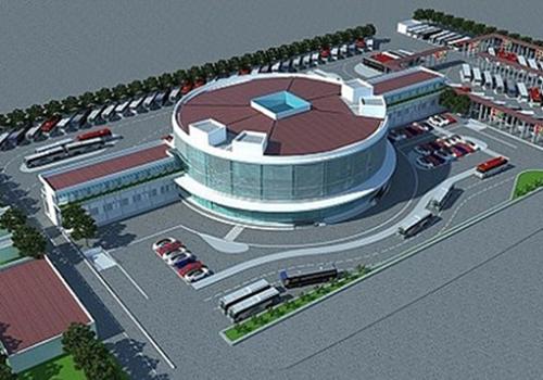 Bến xe Yên Sở được thiết kế có công năng hiện đại nhất cả nước. Ảnh: Xuân Hoa