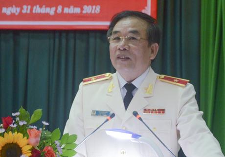 Thiếu tướng Vũ Xuân Viên được bổ nhiệm giữ chức Giám đốc Công an TP Đà Nẵng từ ngày 1/9. Ảnh: Ngọc Trường.