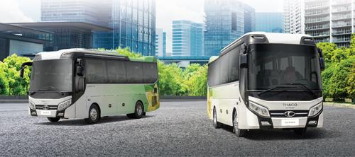 Thaco ra mat dong xe bus cao cap 25-29 cho