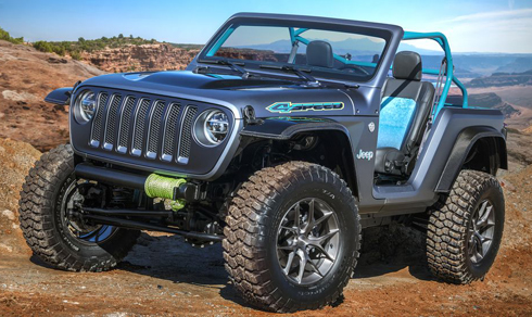 Jeep 4Speed giới thiệu tới công chúng hồi tháng 3 vừa qua tại Mỹ.