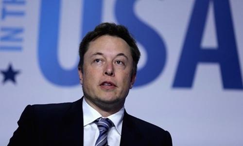 Elon Musk, người sáng lập công ty Tesla và SpaceX. Ảnh: AFP.