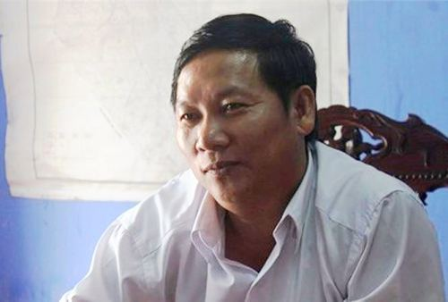 Ông Hồ Hữu Phúc, Phó phòng Lao động -thương binh và xã hội huyện Phú Lộcbị khai trừ khỏi Đảng. Ảnh: T.H