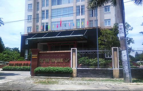 Cục thuế Quảng Nam - nơi cá nhân lương từ Google đến kế khai nộp thuế. Ảnh: Đắc Thành.