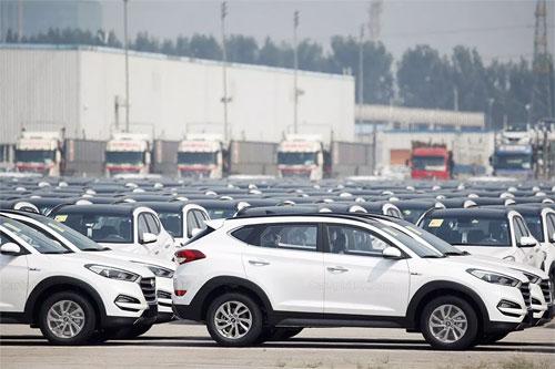 Xe Hyundai sản xuất ở Trung Quốc có thể được đưa sang bán ở ASEAN. Ảnh: Carspiritpk.