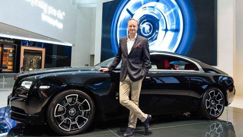 Giles Taylor từng đảm nhiệm vị trí cao nhất trong khâu thiết kế của Rolls-Royce. Ảnh: Abendzeitung.