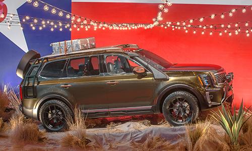 Kia Telluride 2020 phiên bản Texas tại tuần lẽ thời trang New York, Mỹ 2018.