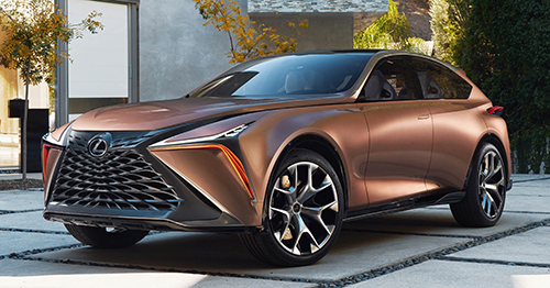 Crossover hạng sang Lexus LF-1 Limitless concept.