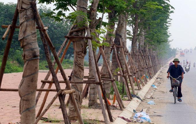 Đường 5.000 tỷ nối bốn quận, huyện Hà Nội sắp khánh thành